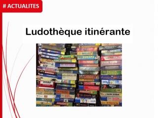 Ludothèque itinérante : prochains passages