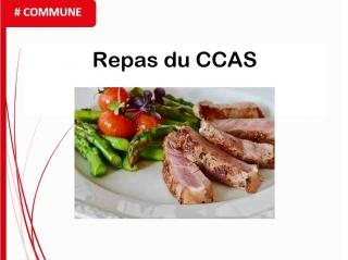 Mardi 23 Novembre : repas du CCAS